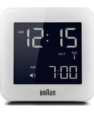 Braun BNC009WH-RC controlado por radio reloj despertador Global - blanco