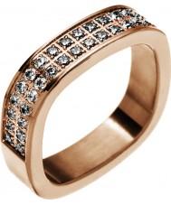 Edblad 83186 Damas jolie rosa plateó el anillo - Talla L (x)