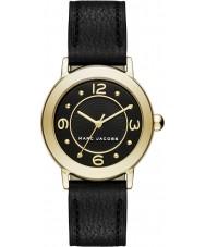 Marc Jacobs MJ1475 Damas riley reloj de la correa de cuero negro