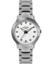 Rotary LB02836-07 Relojes de reloj de acero de piedra situada