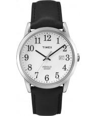 Timex TW2P75600 Reloj para hombre de la correa de cuero negro Easy Reader
