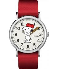 Timex TW2R41400 Reloj de fin de semana de Peanuts
