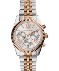 Michael Kors MK5735 Damas Lexington reloj cronógrafo de acero de dos tonos