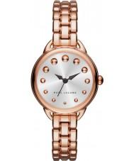 Marc Jacobs MJ3496 Las señoras se levantaron Betty reloj de pulsera de acero de oro