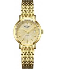 Rotary LB05303-03 Relojes de oro reloj chapado en Windsor