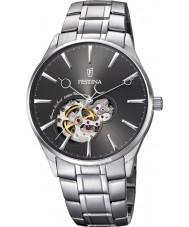 Festina F6847-2 Reloj para hombre pulsera de plata de acero automática