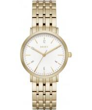 DKNY NY2503 Las señoras reloj pulsera de acero de oro Minetta