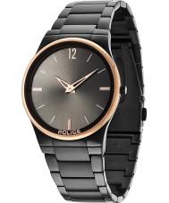 Police 12744JRSBR-61M reloj negro para hombre horizonte