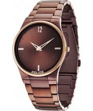 Police 12744JRSBZR-12M Para hombre horizonte reloj marrón