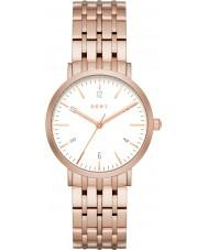 DKNY NY2504 Señoras Minetta aumentaron reloj pulsera de acero de oro