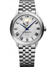 Raymond Weil 2227-ST-00659 Reloj para hombre pulsera de acero de plata maestro