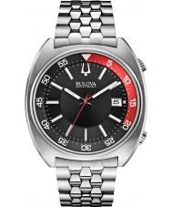 Bulova 96B210 Mens ba reloj pulsera de acero de plata ii