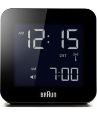 Braun BNC009BK-RC controlado por radio reloj despertador Global - negro