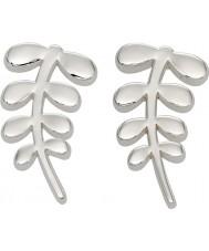 Orla Kiely E5159 Damas compinche aretes de plata vástago