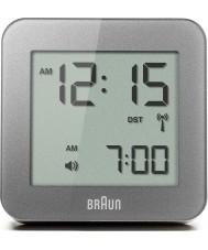 Braun BNC009GY-RC despertador digital gris