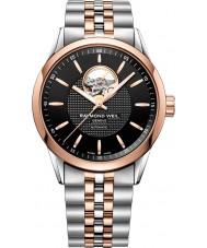 Raymond Weil 2710-SP5-20021 Mens profesional independiente reloj pulsera de acero de dos tonos