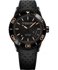 Raymond Weil 2760-SB2-20001 reloj de pulsera de caucho negro para hombre independiente buzo
