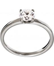 Edblad 83239 Las señoras anillo de acero roma - tamaño l (x)