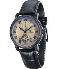 Thomas Earnshaw ES-8042-06 Mens westminster reloj de la correa de cuero negro