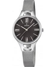 Festina F16950-2 Las señoras de plata mademoiselle reloj de pulsera de acero