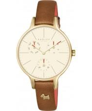 Radley RY2412 Señoras de Wimbledon reloj cronógrafo de cuero rubí