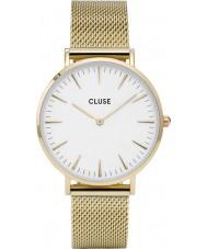 Cluse CL18109 reloj de malla de la boheme damas