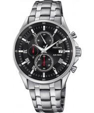 Festina F6853-4 Para hombre reloj cronógrafo de plata