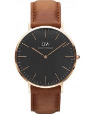 Daniel Wellington DW00100126 reloj de 40 mm Durham negro clásico