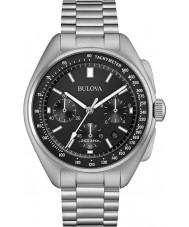 Bulova 96B258 Reloj de cronógrafo de piloto lunar para hombre