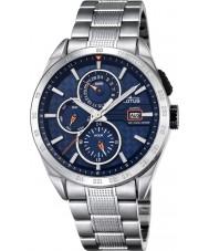 Lotus L18244-5 Para hombre reloj de múltiples funciones de plata