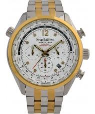 Krug-Baumen 100107DM Reloj para hombre de la edición limitada de diamantes de air explorer