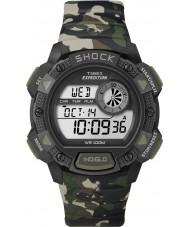Timex T49976 reloj cronógrafo de choque base de camo expedición para hombre