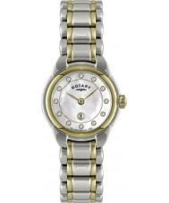Rotary LB02602-41L Relojes de reloj de dos tonos