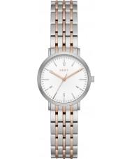 DKNY NY2512 Damas Minetta dos tonos reloj pulsera de acero