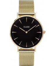 Cluse CL18110 reloj de malla de la boheme damas