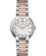 Dreyfuss and Co DLB00062-D-01 Señoras de 1974 del diamante fijó dos de reloj del tono