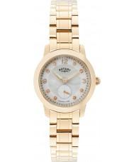 Rotary LB02702-41 Relojes de Cambridge rose de oro plateado