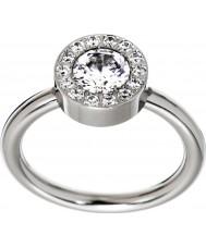Edblad 83279 Las señoras anillo de acero thassos - tamaño p (m)