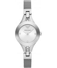Emporio Armani AR7361 pulsera de reloj del vestido de malla de acero damas