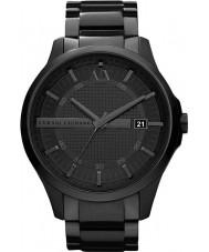Armani Exchange AX2104 pulsera de reloj del vestido ip negro de los hombres