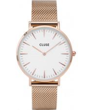 Cluse CL18112 reloj de malla de la boheme damas