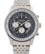 Krug-Baumen 600303DSA Reloj automático de diamantes para viajeros aéreos
