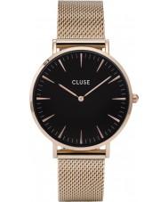 Cluse CL18113 reloj de malla de la boheme damas
