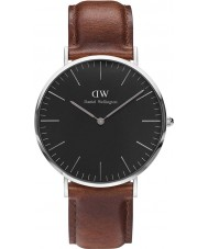 Daniel Wellington DW00100130 Reloj clásico varones de 40 mm negro st