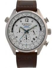 Krug-Baumen 100200DM Reloj para hombre de la edición limitada de diamantes de air explorer