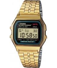 Casio A159WGEA-1EF Colección de oro clásico reloj plateado