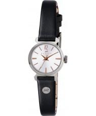Radley RY2107 Señoras del reloj de la correa de cuero negro de la vendimia