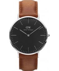 Daniel Wellington DW00100132 reloj de 40 mm Durham negro clásico