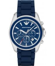 Emporio Armani AR6068 Relojes de mate azul reloj deportivo