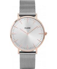 Cluse CL18116 reloj de malla de la boheme damas